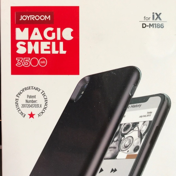 hot sale online 4d441 c1f50 iPhone X Joy room magic shell battery case NWT